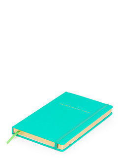 take note it's what's inside that counts large notebook by kate spade new york