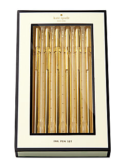 Strike Gold Pen Set by kate spade new york