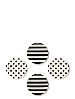 Raise a Glass Melamine Tidbit Plate by kate spade new york