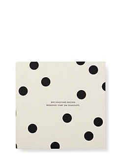 it all just clicked 4x6 photo album by kate spade new york