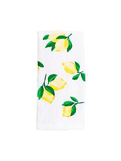 make lemonade kitchen towel by kate spade new york