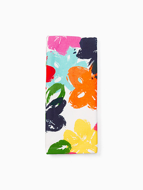 Kate Spade Painted Floral Painted Floral Kitchen Towel