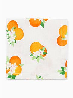 orange blossom  orange blossom napkin by kate spade new york