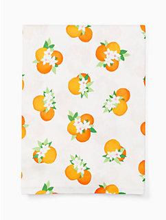 orange blossom  orange blossom table cloth by kate spade new york