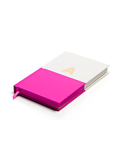 initial notebook by kate spade new york
