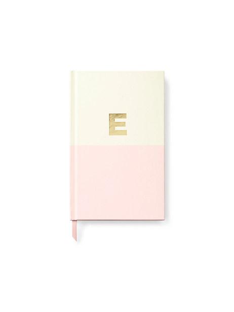 Kate Spade Initial Notebook, E