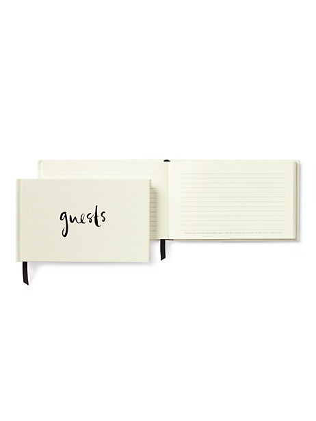 well wishes guest book by kate spade new york
