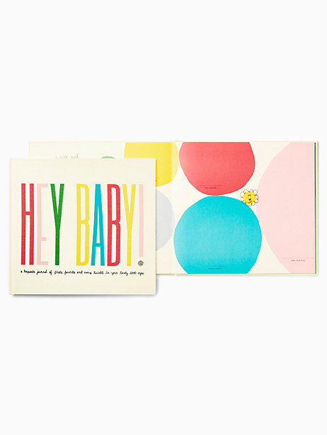 hey baby first year book by kate spade new york