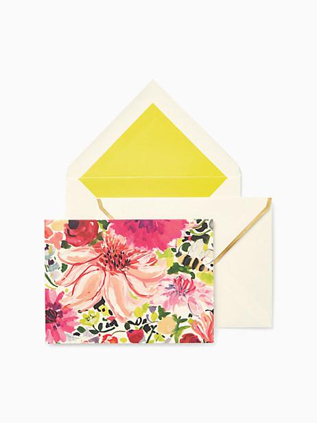 Kate Spade Dahlia Notecard Set
