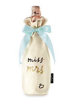 miss to mrs. wine tote by kate spade new york