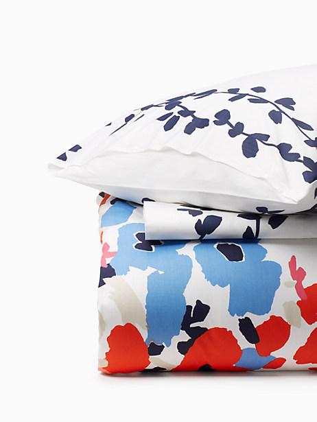 Kate Spade Poppy Fields Comforter Set, Marashino - Size TWIN/TWIN XL