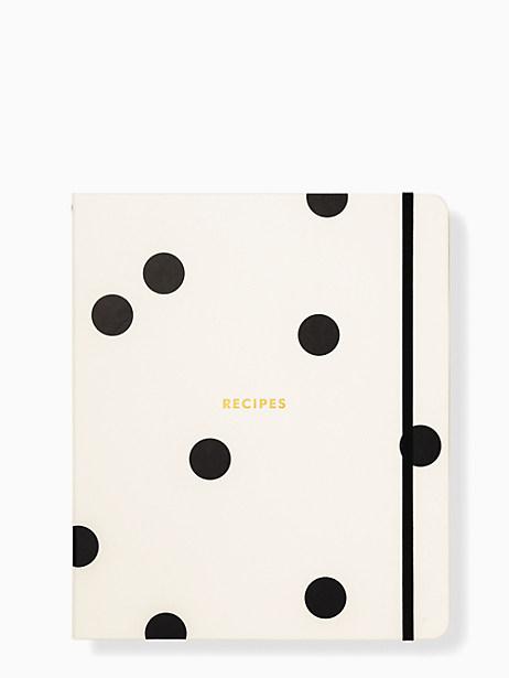 Deco Dot Recipe Book by kate spade new york