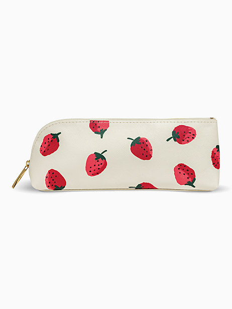 Strawberries Pencil Case by kate spade new york