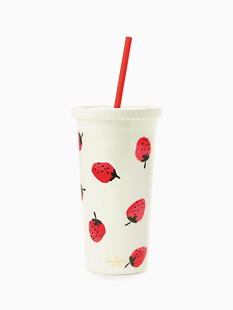 Strawberries Insulated Tumbler by kate spade new york
