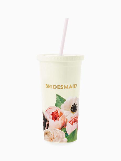 Blushing Floral Bridesmaid Tumbler by kate spade new york