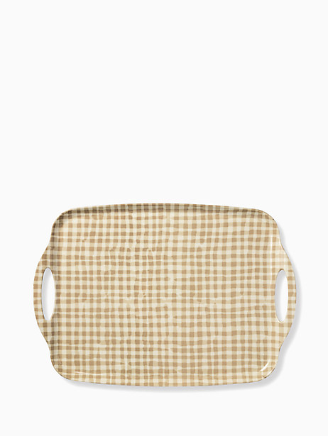 gingham melamine serving tray by kate spade new york