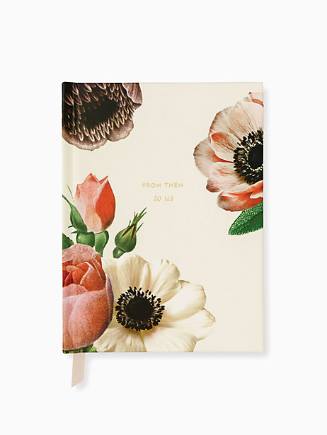 Blushing Floral Gift Log by kate spade new york