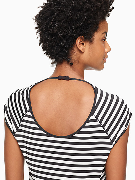 stripe open back tee by kate spade new york