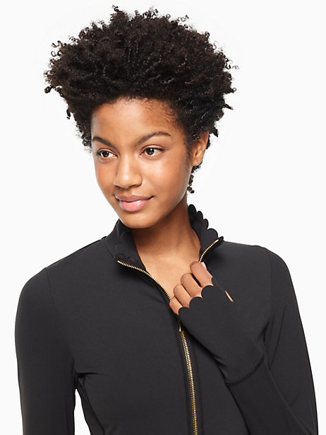 scallop jacket by kate spade new york