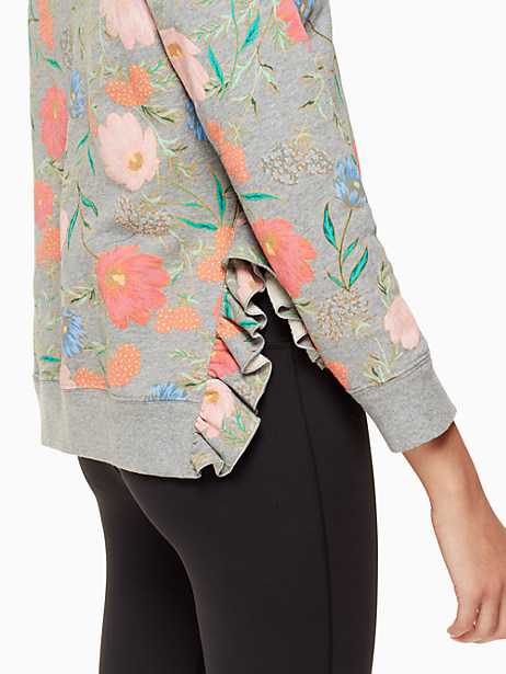 blossom crop pullover by kate spade new york