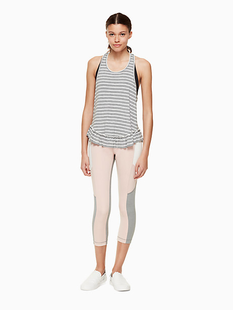 stripe ruffle tank by kate spade new york