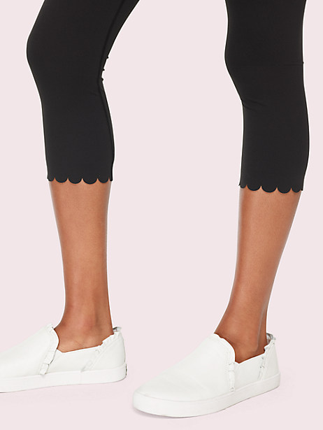 scallop crop legging by kate spade new york