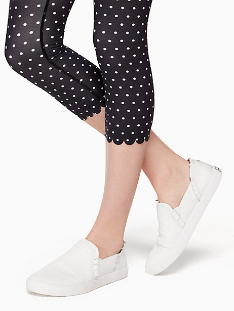 polka dot scallop legging by kate spade new york