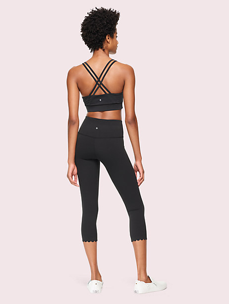 scallop sports bra by kate spade new york