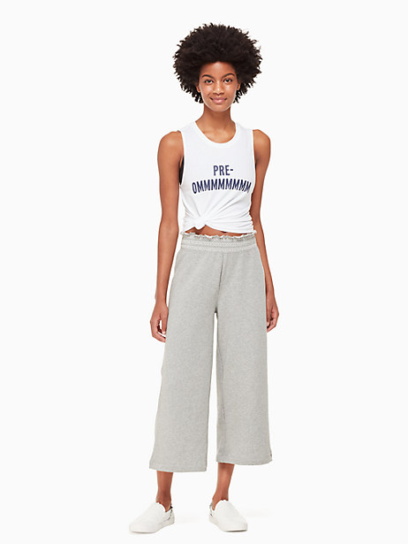 smocked sweatpant by kate spade new york