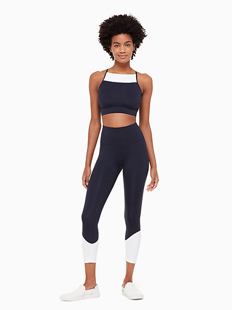 colorblock legging by kate spade new york