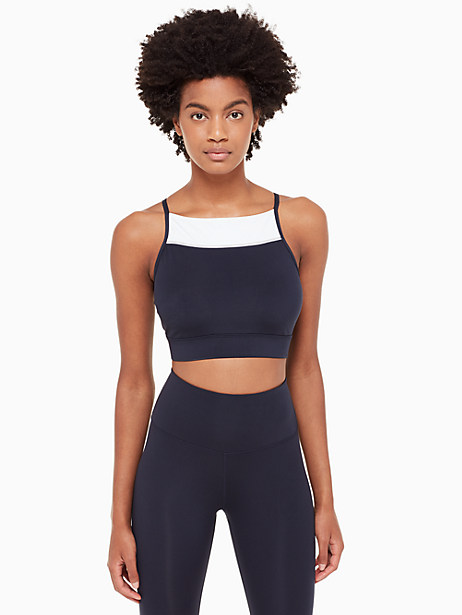 colorblock sports bra by kate spade new york