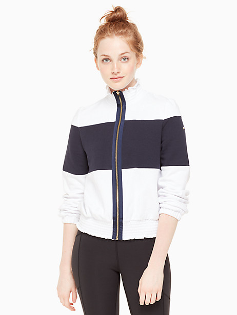 colorblock jacket by kate spade new york