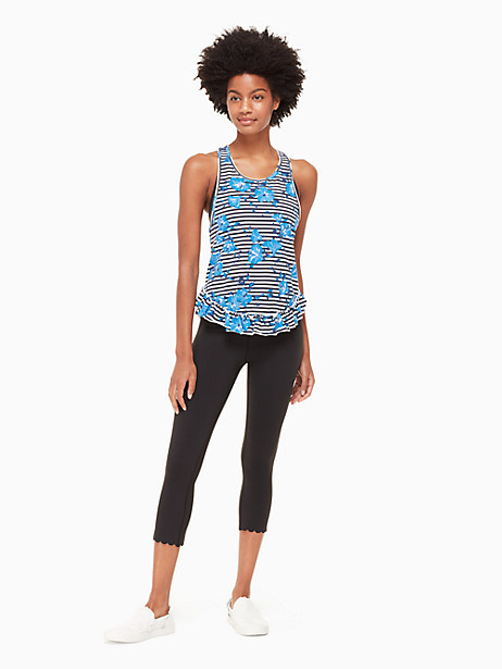hibiscus stripe tank by kate spade new york