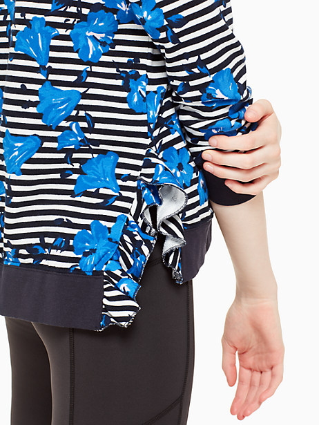 hibiscus stripe pullover by kate spade new york