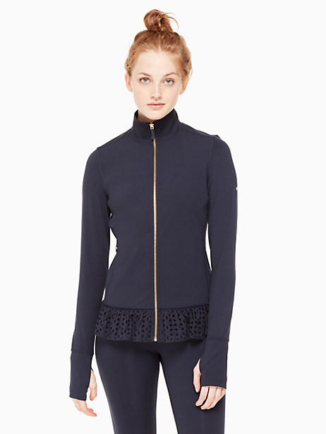 eyelet jacket by kate spade new york