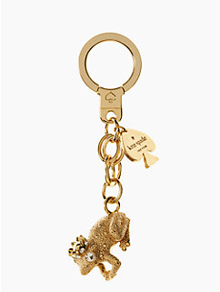 kiss a prince frog KEYFOB by kate spade new york