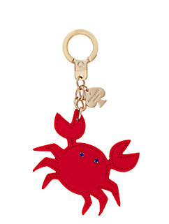 kate spade key fobs crab keychain by kate spade new york