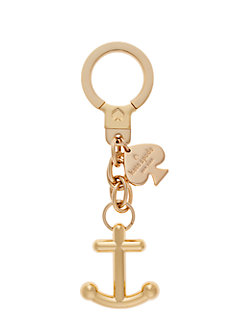 kate spade key fobs anchor keychain by kate spade new york