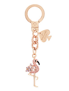 flamingo keychain by kate spade new york