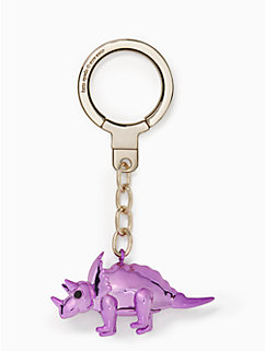 triceratops balloon keychain by kate spade new york