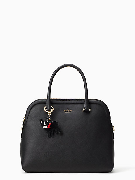 leather antoine keychain by kate spade new york
