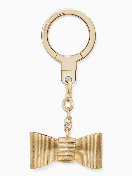 all wrapped up bow keychain by kate spade new york