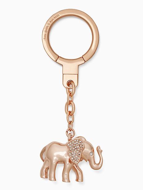 jeweled elephant keychain by kate spade new york