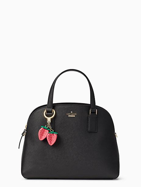 strawberry keychain by kate spade new york