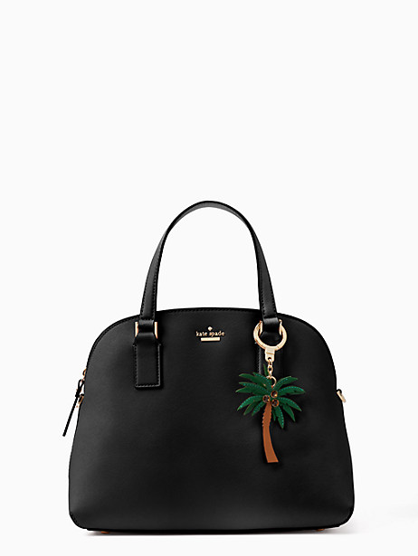 leather palm tree keychain by kate spade new york