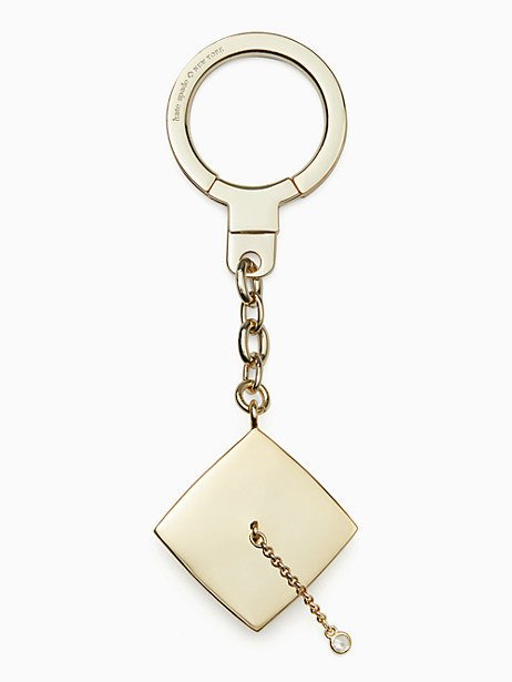 graduation cap keychain by kate spade new york