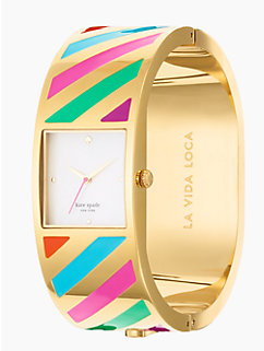 la vida loca stripe delacorte bangle