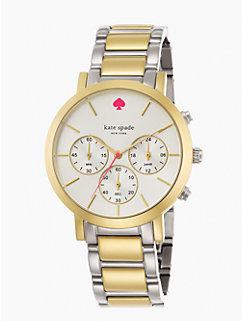 gramercy grand chronograph by kate spade new york