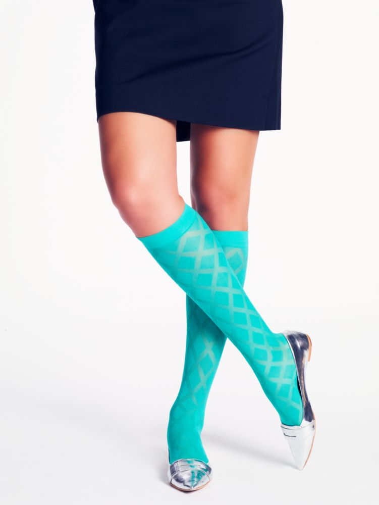 diamond sheer knee highs