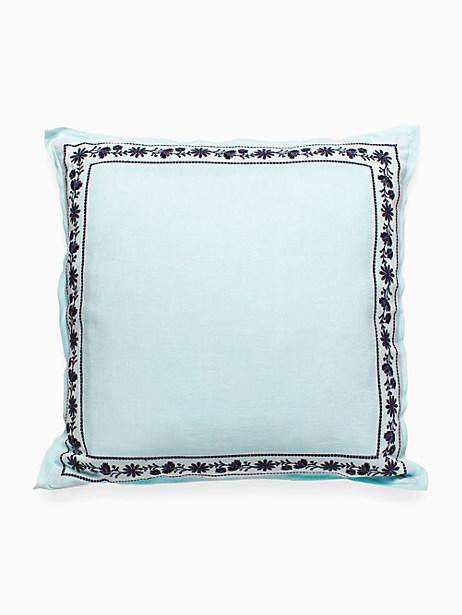 Kate Spade Humming Bird Decorative Pillow, Green